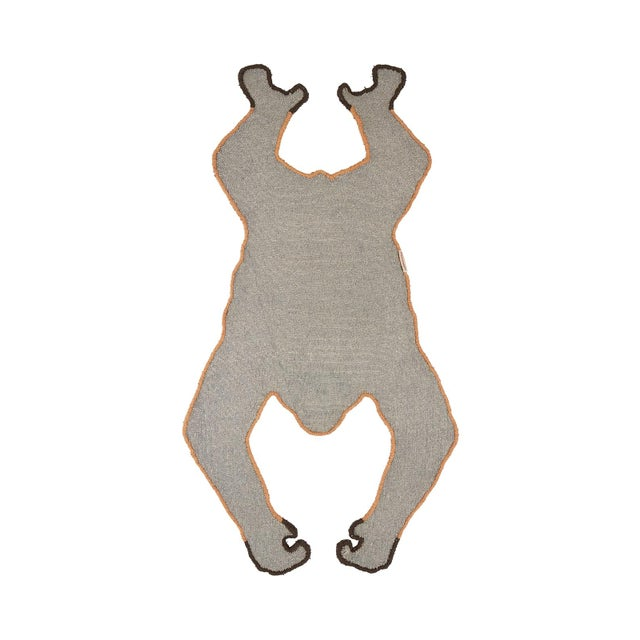 Bring some cheer to your room with this beautifully handmade Oddly Orang Utan Rug Small. The Oddly Orang Utan Rug Small is...