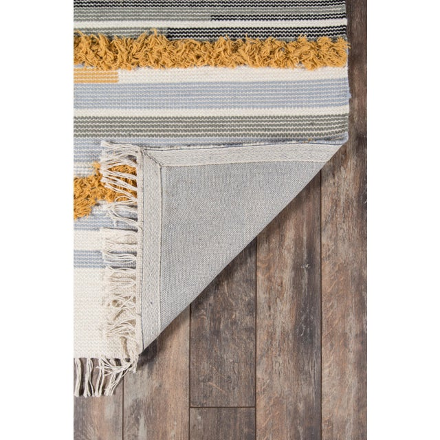 Novogratz by Momeni Indio Feliz in Mustard Rug - 2'X8' Runner For Sale In Atlanta - Image 6 of 8