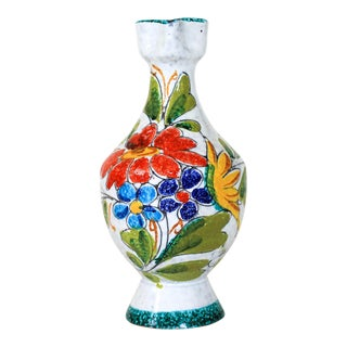 Painted Italian Pitcher