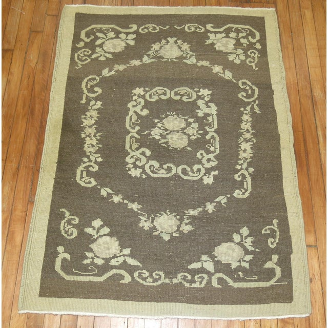 Vintage Turkish Rug - 3'4'' X 4'6'' - Image 6 of 8
