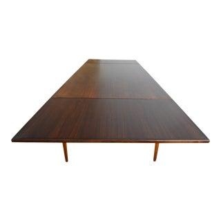 Niels Møller Model No. 254 Danish Modern Rosewood Extension Dining Table For Sale