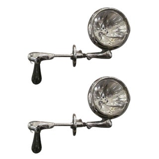 Vintage Police Spotlights - A Pair For Sale