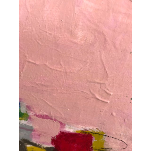 "Gina Cochran ""Let's Play Pretend"" Large Original Abstract Painting For Sale In Washington DC - Image 6 of 12"