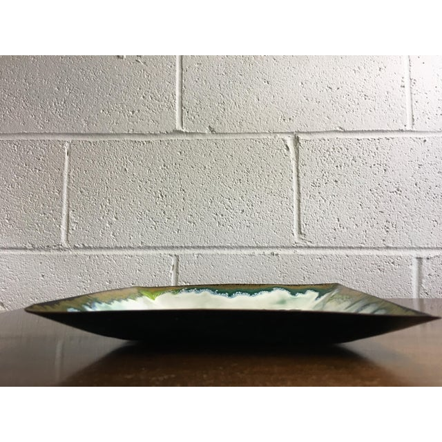 Frank Lee Enameled Copper Dish - Image 11 of 11