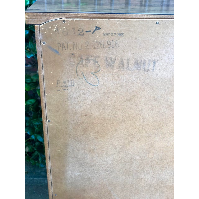1960s Heywood Wakefield 5 Drawer Highboy For Sale - Image 10 of 11