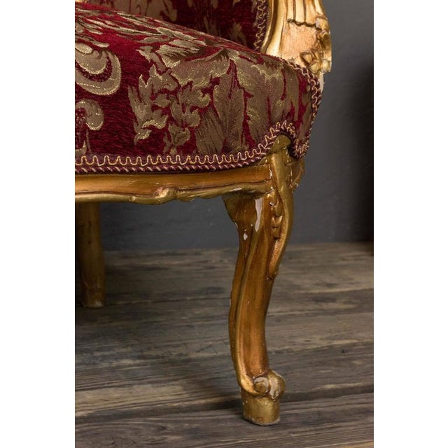 Gilt Rococo Style Marquise For Sale - Image 9 of 10