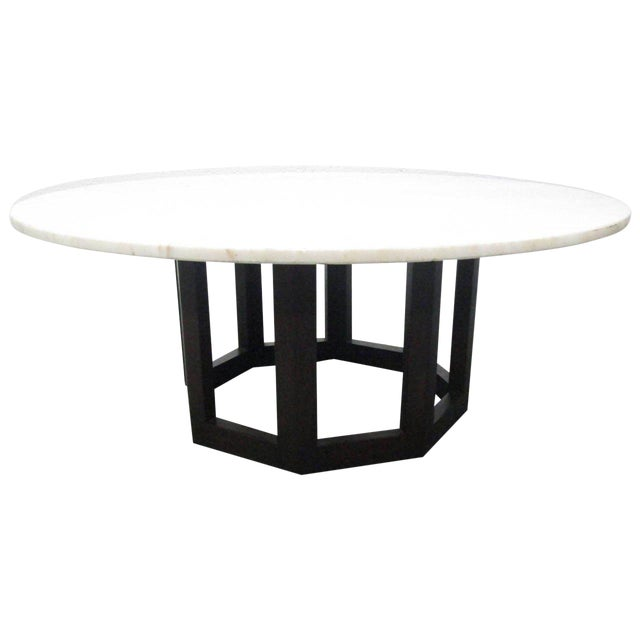 Marble Top Coffee Table For Sale