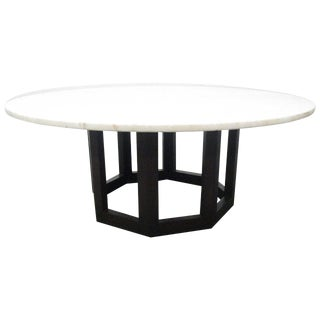 Marble Top Coffee Table Manner of Harvey Probber For Sale