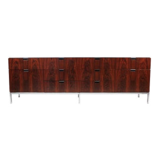 Florence Knoll Designed Rosewood Credenza, 1960s For Sale
