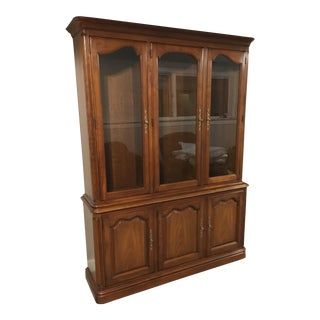 Kindel Cherry China Cabinet For Sale