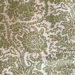 Thibaut Mizoram Knit Backer Green Fabric - 3 2/8 Yards For Sale