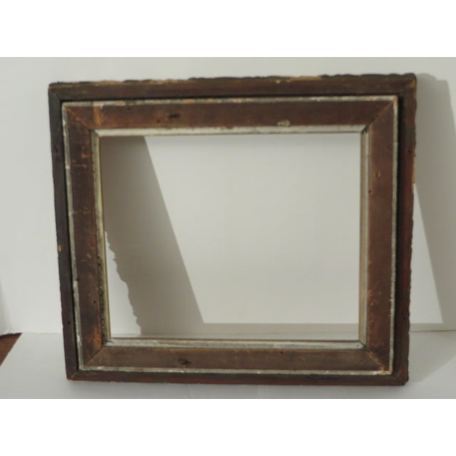 Antique Wood Gesso Gold Gild Picture Frame for Painting or Mirror ...