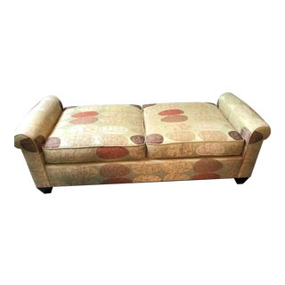 Modern Donghia Upholstered Bench For Sale