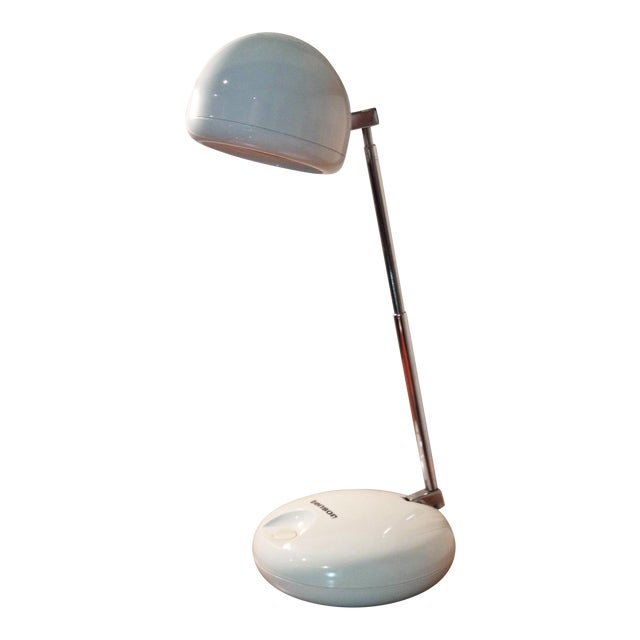 Tensor Moder 650 White Eyeball Lamp For Sale