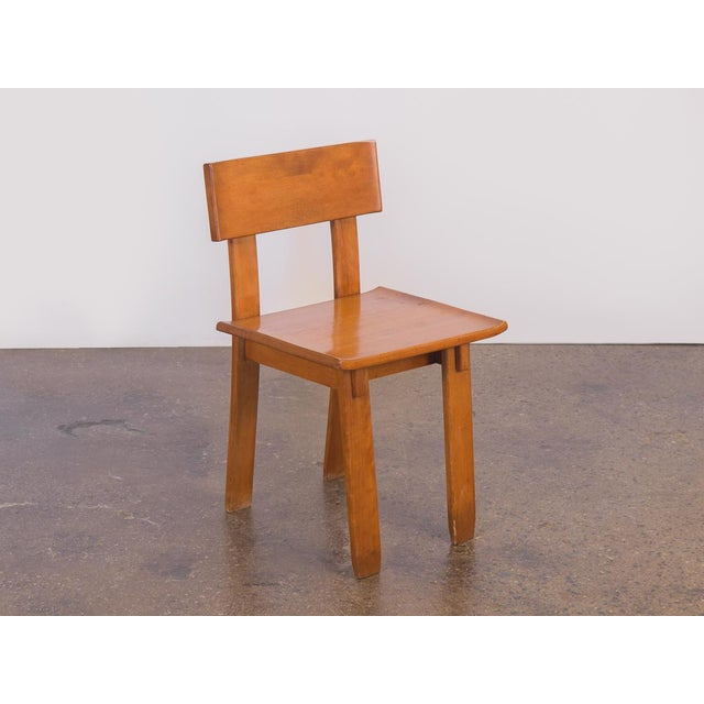 1935 Russel Wright American Modern Side Chair For Sale - Image 11 of 11