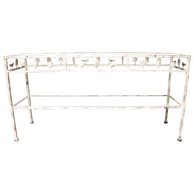Diego Giacometti Style Console Table - Image 1 of 6