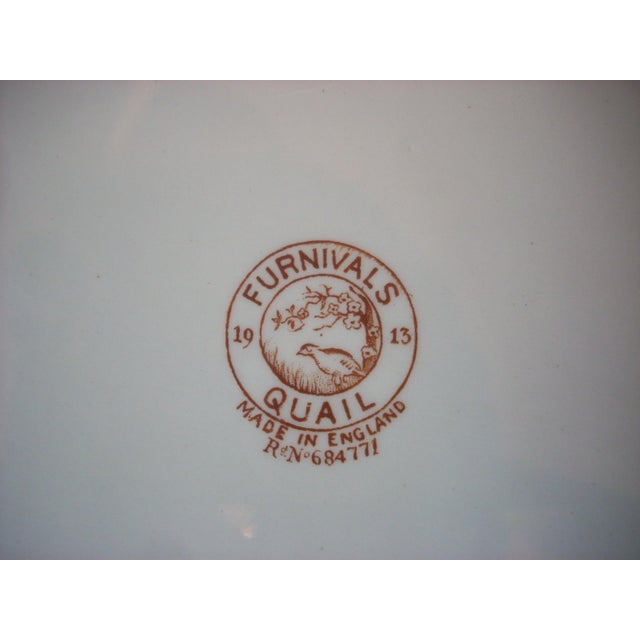 1910s English Transferware Serving Platter For Sale - Image 5 of 6