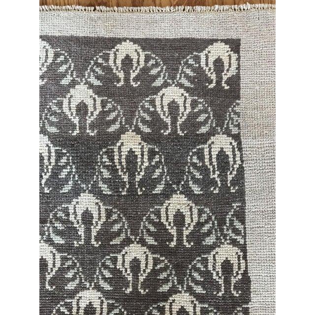 "Bellwether Rugs Vintage Brown Patterned Turkish Rug ""Remy"" - 4′2″ × 6′1″ For Sale - Image 4 of 7"