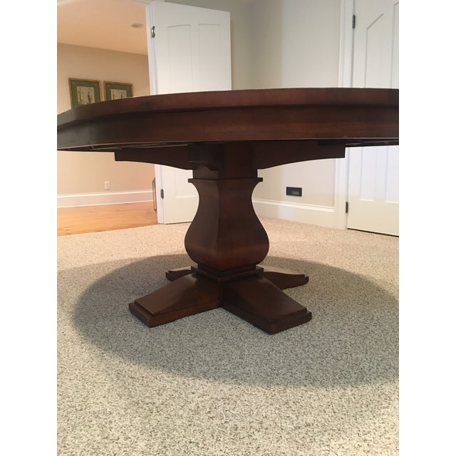 Restoration Hardware Round Dining Table - Image 6 of 10