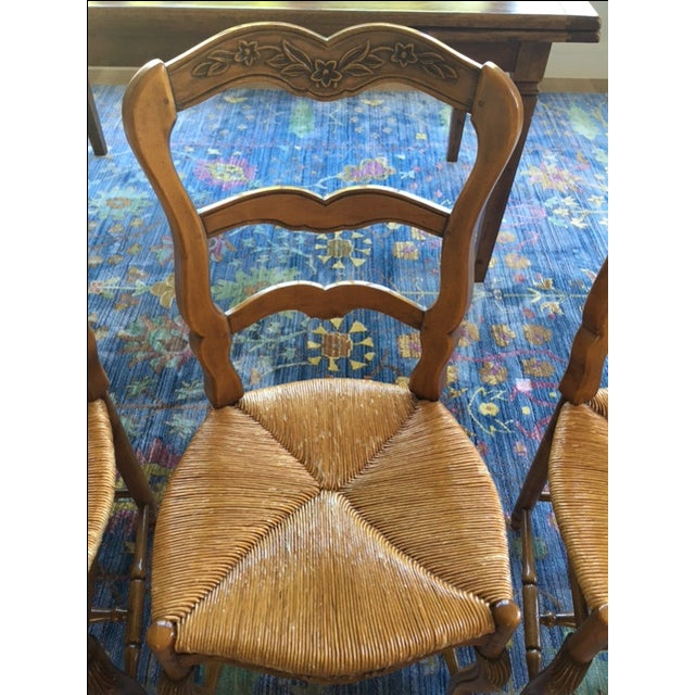Pierre Deux French Country Dining Chairs - 6 For Sale - Image 7 of 11