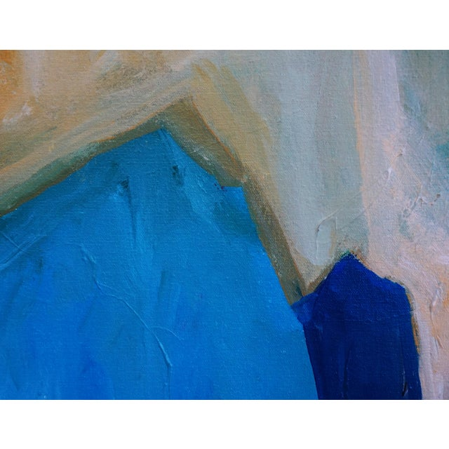 """2010s Laurie MacMillan """"New Wave"""" Abstract Seascape Painting For Sale - Image 5 of 7"""