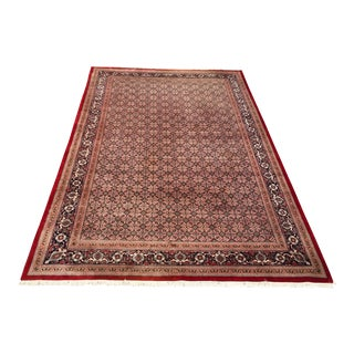Hand Knotted Bakshaish Style Tabriz Persian Rug - 10′7″ × 17′ For Sale
