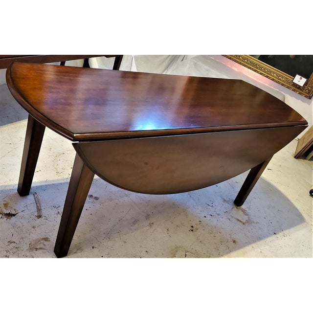 English Traditional Wake or Hunt Style Dining Table   Chairish