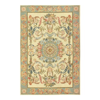 "Pasargad Sino Abusson Rug- 3'5"" X 5' For Sale"