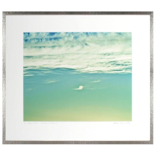 """Please allow at least 14 days for printing and framing before a piece is shipped. Entitled """"Ethereal Green"""", this 2016..."""