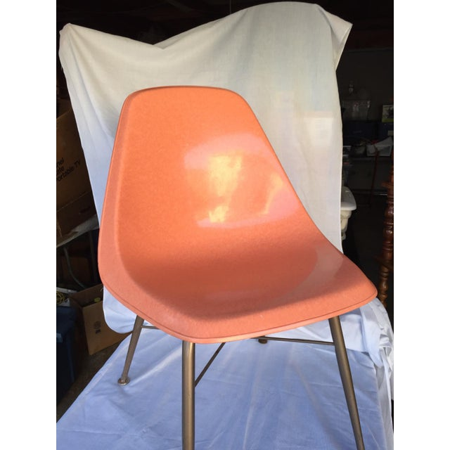 Mid-Century Fiberglass Shell Chair - Image 3 of 4