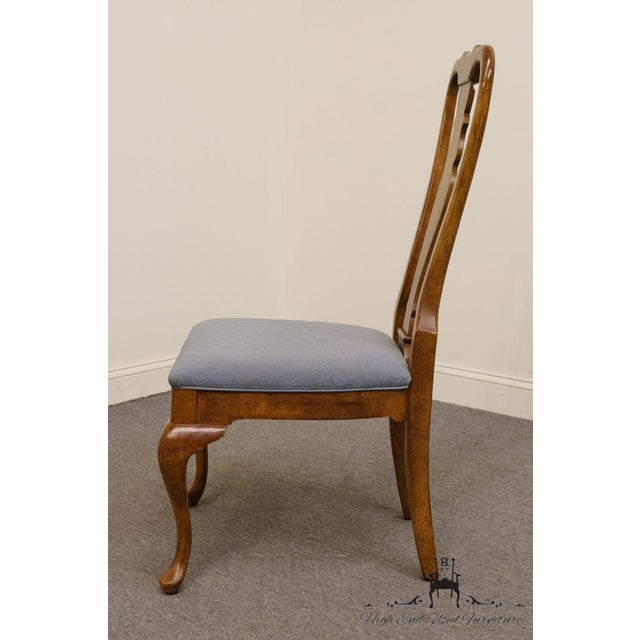 American of Martinsville Late 20th Century Vintage American of Martinsville Queen Anne Style Dining Chair For Sale - Image 4 of 9