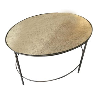 West Elm Foxed Mirror Coffee Table