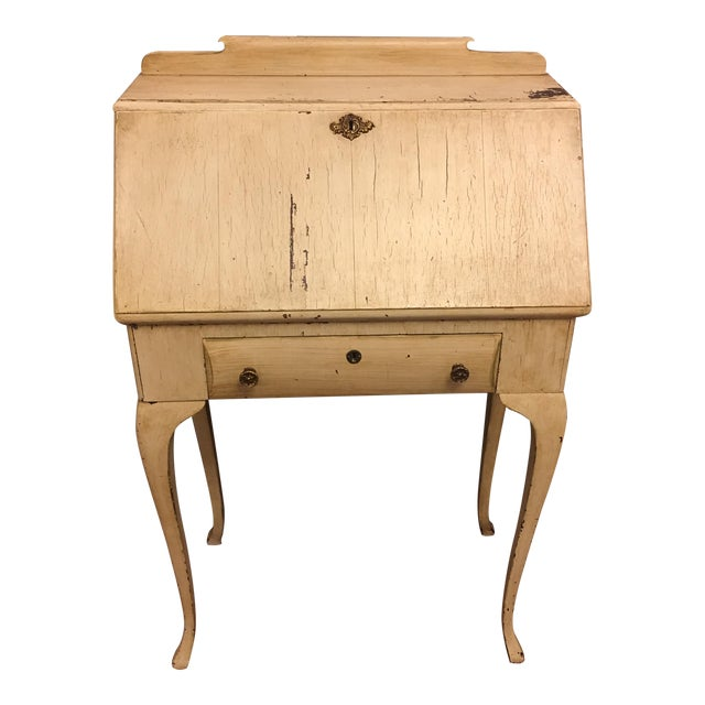 Vintage Shabby Chic Secretary Desk - Image 1 of 11