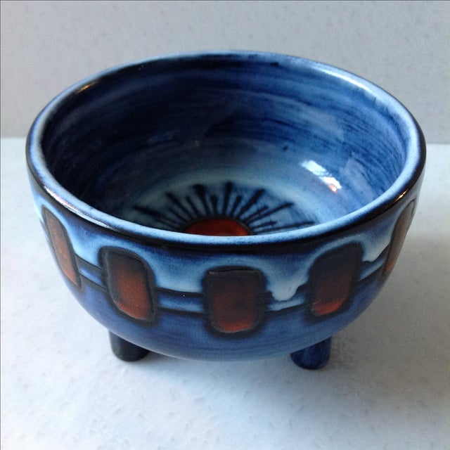 Mid-Century French Studio Art Pottery - Image 9 of 10