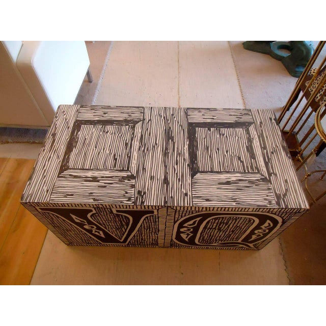 1970s Edward Gorey Cube End/Coffee Tables-Set of 3 For Sale - Image 5 of 7