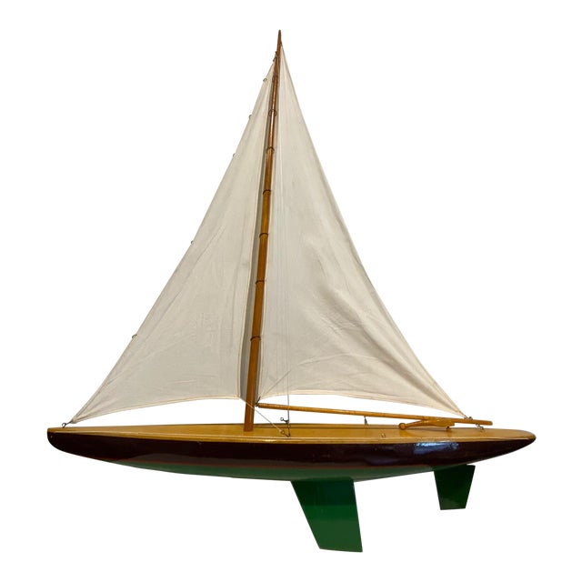 Mid 20th Century Model Sailbaot For Sale
