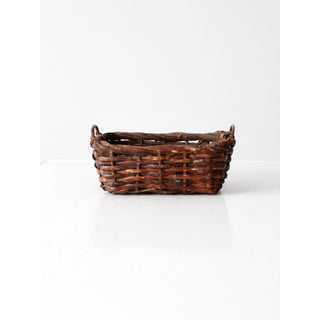 Vintage Woven Basket Preview