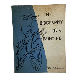 1966 the Biography of a Painting Ben Shahn Book For Sale