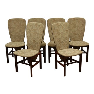 Skovby Danish Rosewood Seashell Dining Chairs - Set of 6