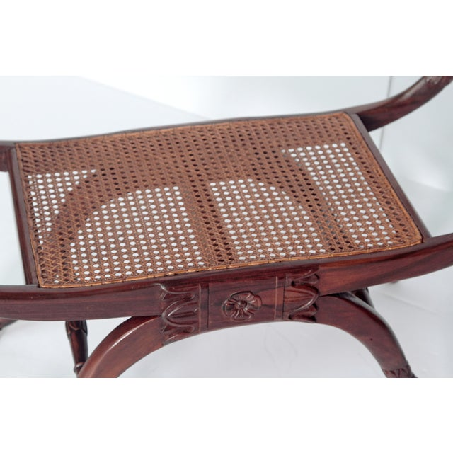 1960s A Group of Four English Regency Style Benches For Sale - Image 5 of 10