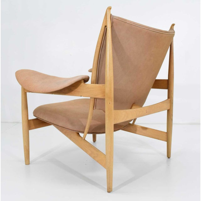 This is the most important of Finn Juhl's chair designs. Shown at the Cabinetmakers Guild in 1949, Denmark's King Frederik...
