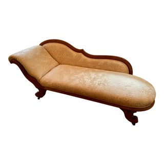 Early 20th Century Antique Chaise Lounge For Sale
