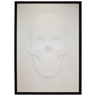 """3d Skull Portrait """"How They See Us"""" by Samuel Greg, 2018 For Sale"""