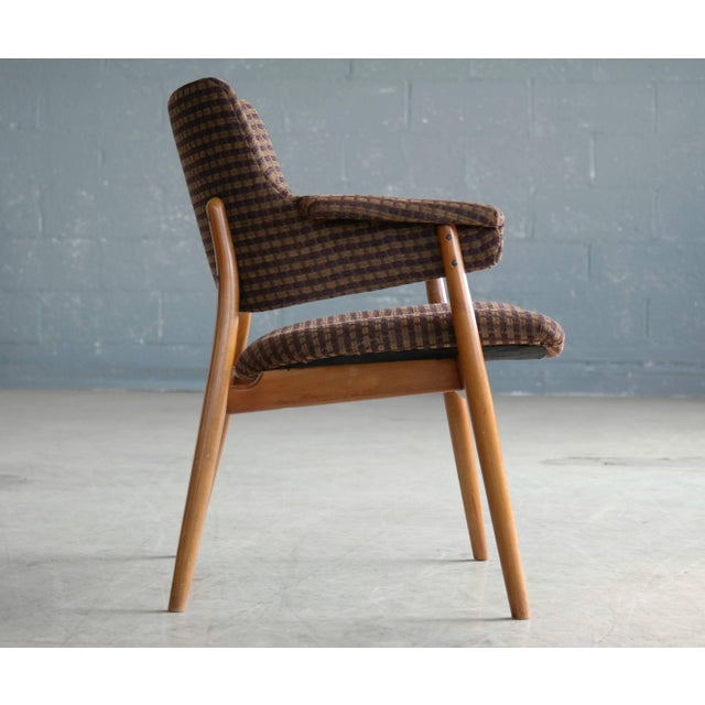 Midcentury Hans Olsen Style Lounge or Accent Chair For Sale In New York - Image 6 of 10