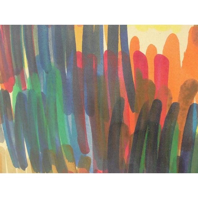 Abstract 1972 Vintage John Bledsoe Washington School of Color Painting For Sale - Image 3 of 11