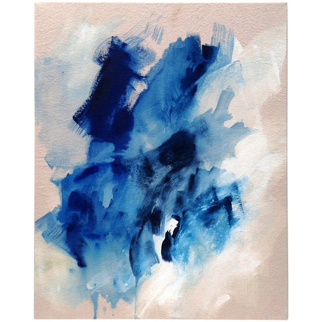 """Dani Schafer """"Searching I"""" 2016 Abstract Painting - Image 1 of 2"""