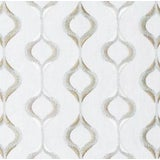 Image of Duralee Da61410-19 Aqua Fabric - 1 Yard For Sale