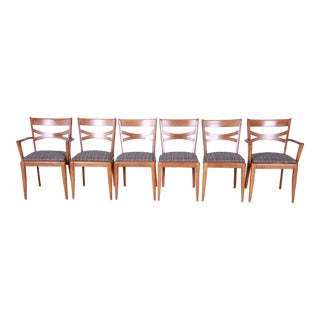 Heywood Wakefield Mid-Century Modern Dining Chairs, Set of 6 For Sale