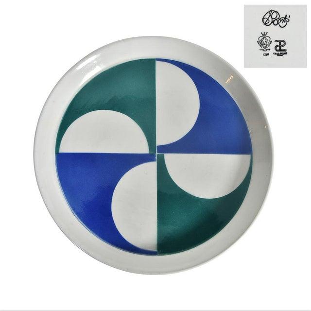 Gio Ponti for Franco Pozzi Ceramic Plates For Sale - Image 12 of 12