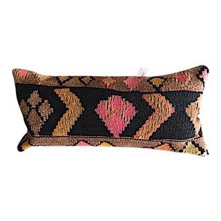 Turkish Kilim Rug Upholstered Pillow